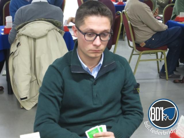 Il vicecampione europeo Riccardo Locatelli ESCAPE='HTML'